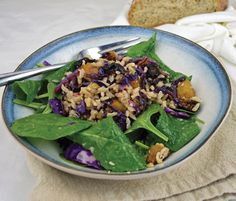 This Autumn Salad from Everyday Vegan is just what you need for dinner with the cool weather coming.