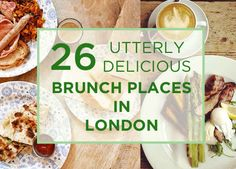 26 Utterly Delicious Brunch Places In London.hell yes I love brunch London Eats, London Food, Leeds, Bristol, Liverpool, Brunch Places, London Places, Things To Do In London, London Restaurants
