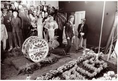 vintage everyday: Photos of Making The Cover for Sgt Pepper's Lonely Hearts Club Band, ca. 1967 Diana Dors