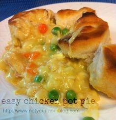 Easy Chicken Pot Pie Recipe on Yummly