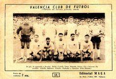 Equipos de fútbol: VALENCIA JUVENIL Campeón de España 1960-61
