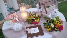 #στολισμος γαμου τραπέζι ευχών