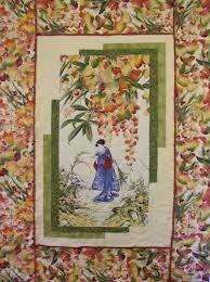 Asian Fabric Panels 33