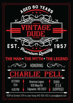 50th birthday invitation for men jpeg printable aged to vintage dude invitation the man the myth the by announceitfavors birthday party invitations adult birthday filmwisefo