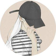 Cartoon Girl Images, Cartoon Profile Pictures, Cartoon Girl Drawing, Girl Cartoon, Cartoon Pics, Cute Emoji Wallpaper, Cute Girl Wallpaper, Sad Anime Girl, Anime Art Girl