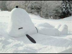 Great twist on fun for your next snow day