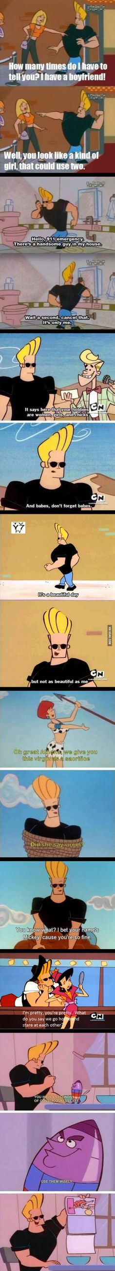 Johny Bravo is the best