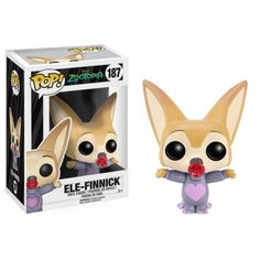 Funko Pop! Ele-Finnick, Disney, Zootopia, Funkomania, Filmes
