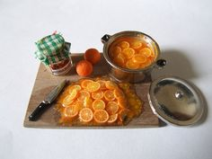 making miniature marmalade in 1:12th scale ... by Debbie K Wright