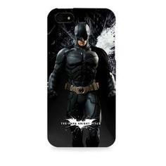 (Officially Licensed) The Dark Knight - Batmam Apple I phone 5 & 5S case
