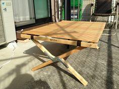 ロールトップテーブル 完成!   チンケnaケンちのブログ