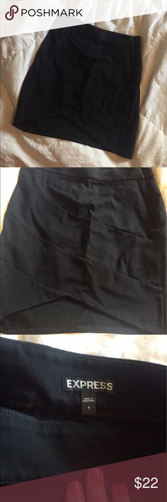 Express High Waist Bandage Skirt Excellent condition, only worn a few times! Express Skirts