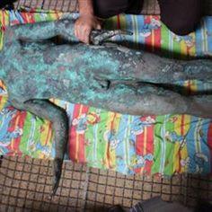 Ανεκτίμητο άγαλμα του Απόλλωνα βρέθηκε στη Λωρίδα της Γάζας - πολιτισμός - Το Βήμα Online