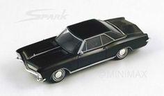 1/43 Spark scale model 1965 Buick Riviera in black £49.99