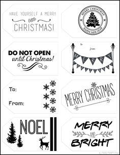 christmas tag printables copy