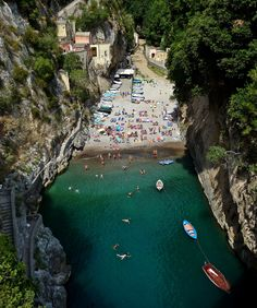 Furore, Italy (by Justinawind)