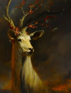 Druids Trees:  Majestic #Stag.