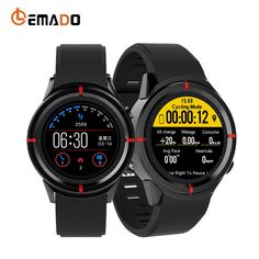 LEMADO GW12 Smart Watch Smartwatch Men Women Heart Rate Monitor Smart-watch Smartwatch GPS SIM 2.0 Camera for Android IOS Phone