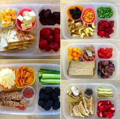 Some more inspiring pics of yummy lunches.