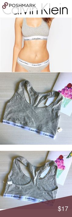 "NWOT Cotton Calvin Klein Sports Bra Small One New/Unused Sports Bra Size small, 22"" White elastic band with Calvin Klein Logo  💜If priced too high, offers are welcome🙂 💜Bundle Deals available  💜Need more details? Please Ask. 💁🏻Like & Share Thank you for viewing! Calvin Klein Underwear Intimates & Sleepwear Bras"