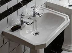 Granley Deco Basins | Bathroom Sinks | Heritage® Bathroom Inspo, Bathroom Sinks, Bathroom Ideas, Art Deco Era, Prize Draw, Basins, Comic, House, Autumn