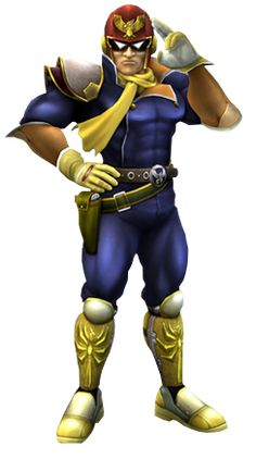 Captain Falcon - F-Zero