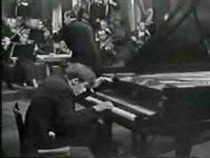 Glenn Gould, J. S. Bach, Concerto in Re minore BWV1052, (III. Allegro).