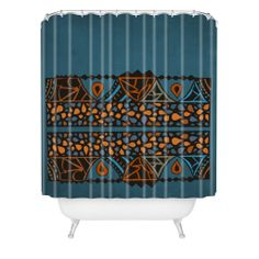 Viviana Gonzalez Textures Abstract 13 Shower Curtain   DENY Designs Home Accessories