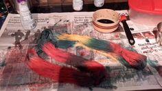 Es wird bunt Bunt, Painting, Feltro, Wool, Colors, Painting Art, Paintings, Painted Canvas, Drawings