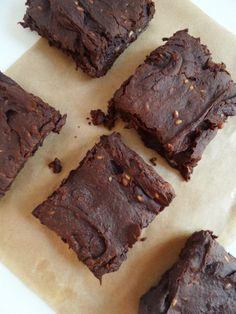 Recipe  Healthy Sweet Potato & Pecan Brownies