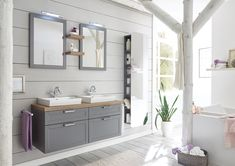 Introducing our exclusive range of SYSTOMATIC CUPBOARDS, you can now plan your space with our flexible range of bedroom and kitchen cupboards. Grey Bathrooms, Kitchen Cupboards, Design Your Own, Double Vanity, Your Space, Modern, Bedroom, Graf, Touch