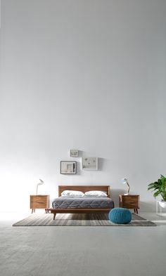 Model bedroom for the modern home enthusiast Modern Bedroom Furniture, Home Furniture, Furniture Design, Home Bedroom, Bedroom Decor, Bedroom Ideas, Sophisticated Bedroom, Mid Century Bedroom, Minimalist Bedroom