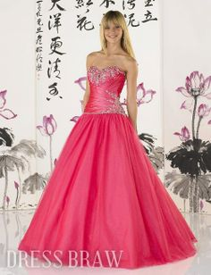 Country Teen Dresses   Home Special Occasion Dresses Prom Dresses 2012 Prom Trends Tulle ...