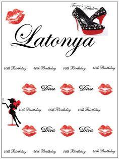 Latonya, Step and Repeat 387583 | www.sign11.com