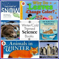 Winter/Cold Themed Science Books - Hip Homeschool Moms