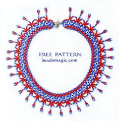 Free pattern for necklace France