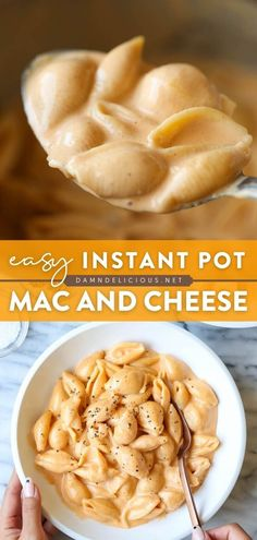 This main dish is a quick and easy way to enjoy comfort food! After just a few minutes in the Instant Pot, this creamy, cheesy mac and cheese is all yours. The perfect dinner idea! Keep this pasta recipe on hand!
