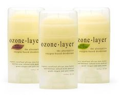 Share Ozone Layer Deodorant with your friends and get a coupon for 10% off of your entire order to be used at checkout! Ozone Layer Deodorant