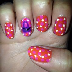 Fashion nail art May Day 19