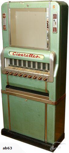 , 1950′s Cigarette Vending Machine | Trade Me ,  , gnfb1234 , http://theusualducks.com/?p=22 ,