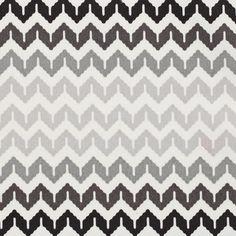 Tissu ameublement à chevrons noir gris - Tissus - MAISON Mondial Tissus
