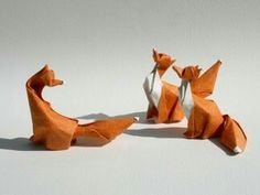 Fox Origami by Dinh Truong Giang