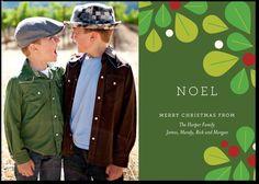 Christmas card? Mod Holly:Evergreen