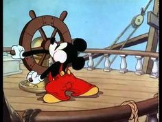 Mickey Mouse - Boat builders