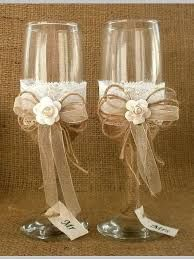 Wedding Glasses Toasting Flutes Champagne Glasses Burlap and Lace Glasses Rustic Wedding Champagne Wedding reception Bride Groom Glasses- Courtney Holloway Decorated Wine Glasses, Painted Wine Glasses, Trendy Wedding, Diy Wedding, Wedding Gifts, Bride And Groom Glasses, Bride Groom, Rustic Groom, Rustic Wedding Reception
