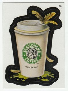 Wacky Packages All-New Series 2 # 10 Starducks Coffee - Topps - 2005