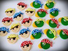 Ateliê Cris Ubara - Biscuit para festas: Para uma festinha Pirata
