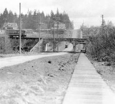 Boundary Road facing south north of Kingsway Vancouver Bc Canada, Vancouver Island, Local History, Family History, Railroad Pictures, Fraser Valley, 10 Picture, Historical Pictures, Old Pictures