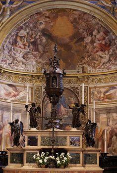 Siena, Duomo Santa Maria Assunta, Hochaltar (high altar)   da HEN-Magonza