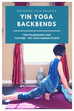 Deepen your backbend practice...